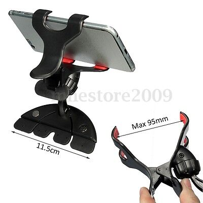 360° Universal Car CD Slot Holder Clip Mount Cradle Stand For Mobile Phone GPS