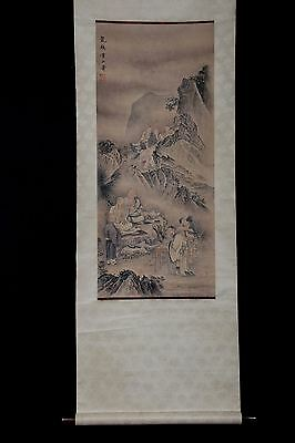 Awesome Vintage Handmade China Paper Figures Scroll Painting Collection PM047