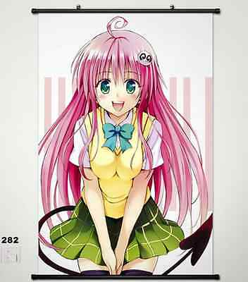 Home Decor Anime To Love Ru Wall poster Scroll Darkness Lala Satalin Deviluke  9
