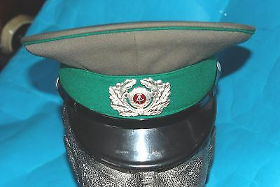 German Army Officers Cap With Cap Badge (Z).