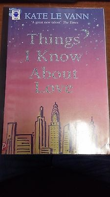 Things I Know About Love by Kate Le Vann EXTRA LARGE PRINT (Paperback, 2006)