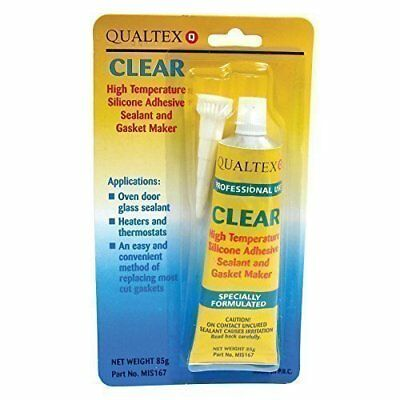 Clear Silicone Adhesive Sealant And Gasket Glue Maker 85GRM Tube