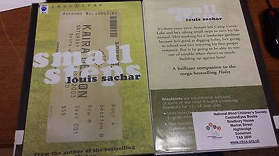 Small Steps by Louis Sachar EXTRA LARGE PRINT 2 Volumes (Paperback, 2006)
