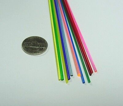 "1/16"" Assortment Colored Acrylic Rod"