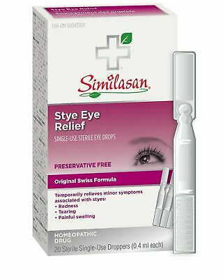 Similasan Stye Eye Relief Monodose, 20 Count {Imported from Canada}
