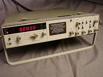 HEWLETT-PACKARD 5328A 500 MHz UNIVERSAL COUNTER- POWERS UP! FREE SHIPPING!