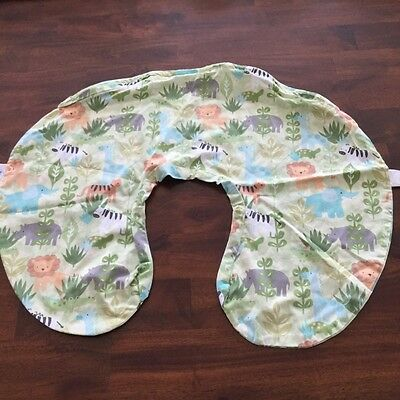 Boppy brand pillow cover jungle animals
