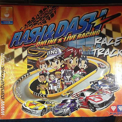 Flash & Dash Online and Live Racing Race Track by Danbar Toys