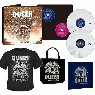 Queen Adam Lambert Summer Sonic 2014 1000 Limited Blu-ray box F/S from JAPAN