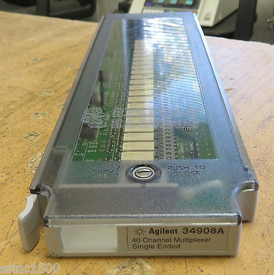 HP Agilent 40-Channel Multiplexer 34908A