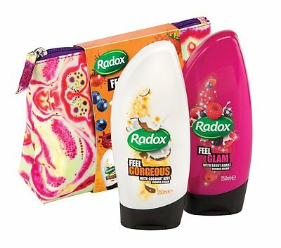 Radox Feel Gorgeous Gift Set For Her and Him - Exoctic Scent 250ml