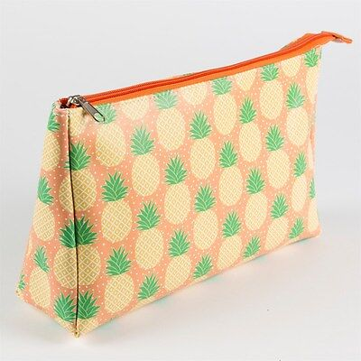 Pineapple Wash Bag Travel Toiletries Overnight Make Up Case Storage Bathroom