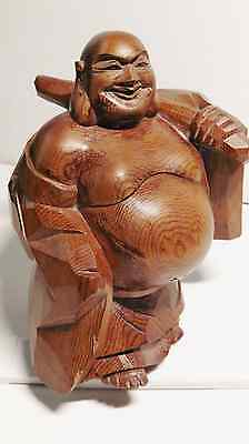 Collectable - Vintage Japanese Yew Wood Carving - Ichi-Itto-Bori Tech.