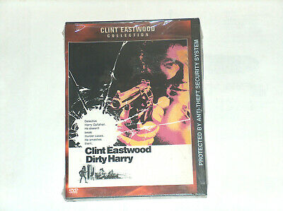 Dirty Harry DVD, 2001, Clint Eastwood Collection Action Adventure Free Ship USA