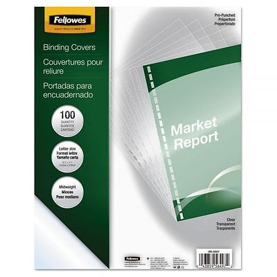 Fellowes Crystals Clear Binding Covers (CRC52937) *****READ DETAILS*****