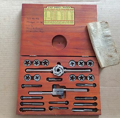 Excellent Ace Hanson Usa Tap And Die Set - Bright & Shiny With Little  Use