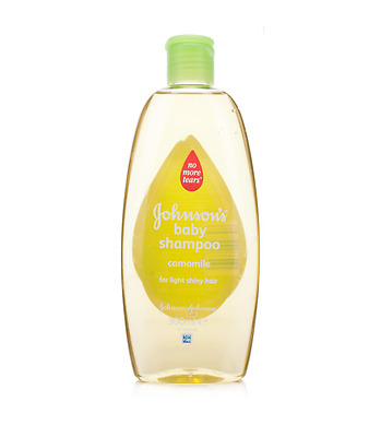 4 x Johnson's Baby Shampoo Camomile 300ml