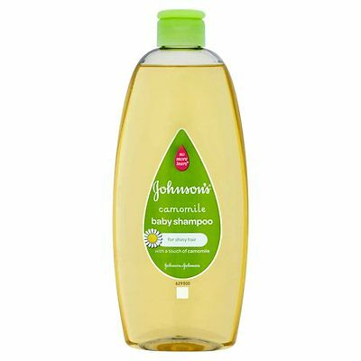 Johnson's Baby Shampoo Camomile 500ml