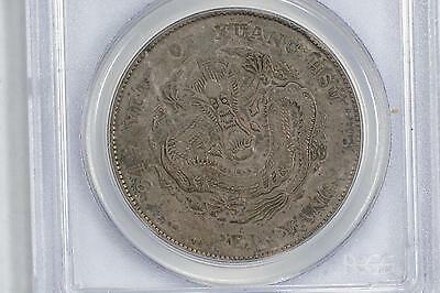 1908 China Chihli Peiyang Silver Dollar Pcgs Vf30 Y-73.2 Lm-465 Cloud Connected