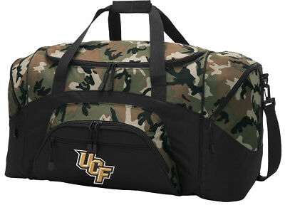 University of Central Florida Duffel BAG CAMO Gym Bags Suitcase LOADED w   POCKET 91b4157a16c9f