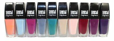 Sally Hansen Triple Shine, Nail Color(Choose Your Color) Buy 2 Get 1 Free