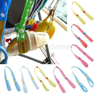 Fixed Toys Rope No-Drop Baby Bottle Toy Cup Holder Strap Hook Baby Stroller Accs
