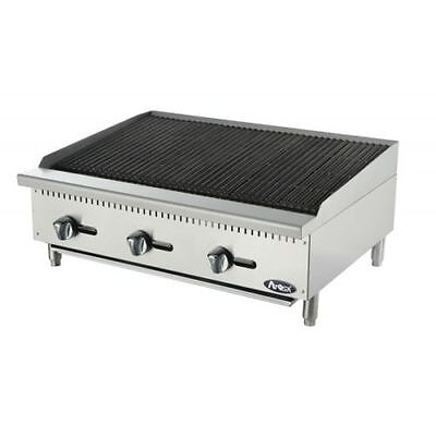 """New 36"""" Radiant Char Broiler Commercial Restaurant Duty Natural Or Lp Gas"""