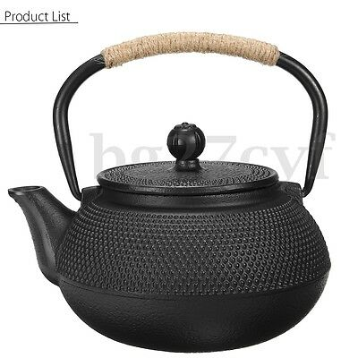 Japanese style cast iron kettle teapot aud picclick au - Japanese teapot with infuser ...