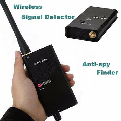 1-8000MHZ Radio FBI GSM Bug Anti-spy RF Signal Tracker Locator Detector Finder