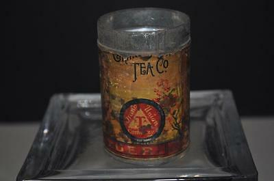 Grand Union Tea and Spice Co Spice Tin Ginger