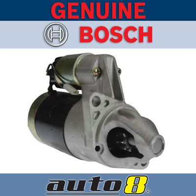 Genuine Bosch Starter Motor to fit Toyota Hiace 2.0L (18RC) Petrol 1977 - 1983