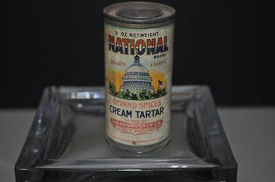 National Spice Tin with Capital Dome