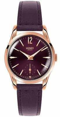 Henry Strap Hl30 Leather Us Hlnp 0060 Holborn London Ladies Watch my80wNnvO