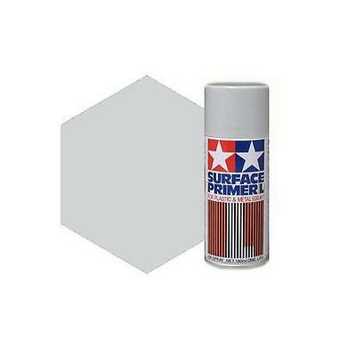 Tamiya 87042 Surface Primer L spray Tamiya 180ml Gray fondo metal-plastic grigio