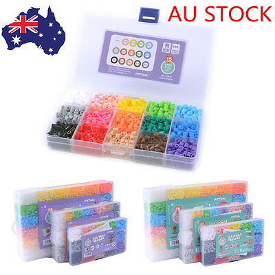 5mm 15 Colors Soft Beads Box Perler Beads Kit DIY Kid's Gift DIY Great Fun Toys