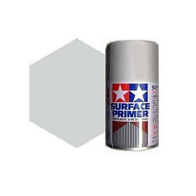 Tamiya 87026 Surface Primer spray Tamiya 100ml Gray fondo metallo-plastic grigio