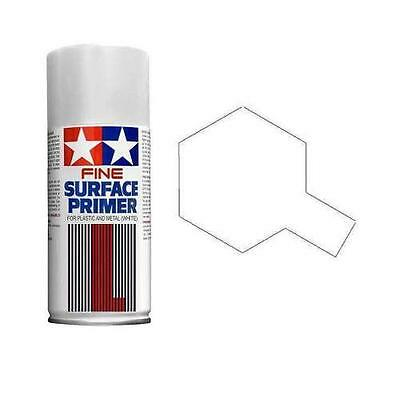 Tamiya 87044 Surface Primer L spray 180ml White fondo metallo-plastica bianco