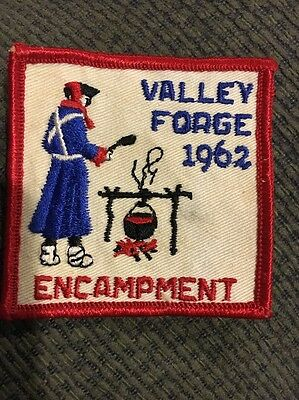 1962 Valley Forge Encampment Patch