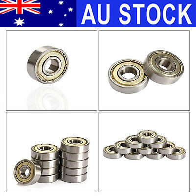 10Pcs Skateboard 3D Printer Scooter Blade Deep Groove Ball Roller Ball Bearings