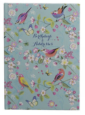 Melodie A5 Birthday and Address Book With 26 Tabbed Alphabetical Sections