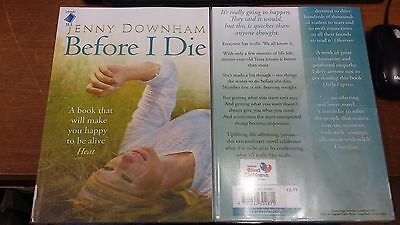 Before I Die by Jenny Downham EXTRA LARGE PRINT (Paperback, 2008)