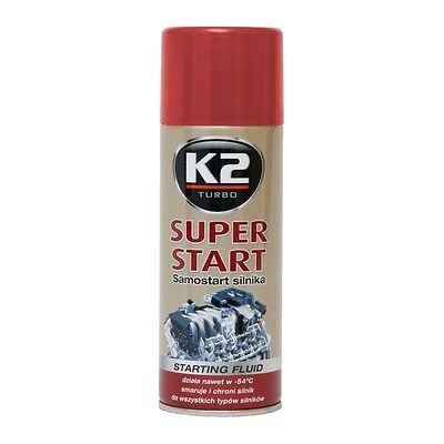 11,72EUR/1L K2 Super Start Motorstarter  Starthilfe Motorstartspray 400ml