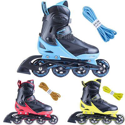 UNISEX Adjustable inline skates SPOOX Spokey + extra laces