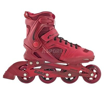 GARA Spokey inline fitness skates 84mm/82A wheels ABEC7 Carbon