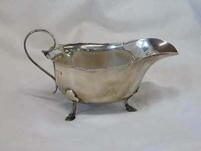 A Good Antique Mappin & Webb Ltd Silver Sauce Boat