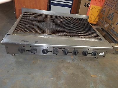 """Char Grill Vulcan 48"""" Radiant-heat Gas Charbroiler"""