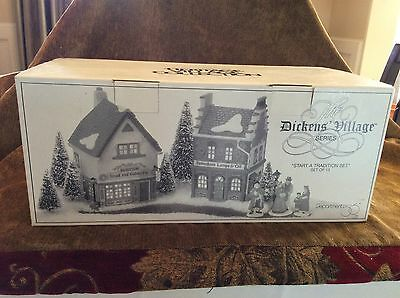 Dept 56 Dickens Village Start A Tradition Set Of 13  #58327 --NEW