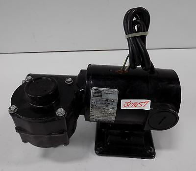 Bodine Electric Co. 130V 1/12Hp 50Rpm 40:1 Gear Motor 33A3Bepm-5R