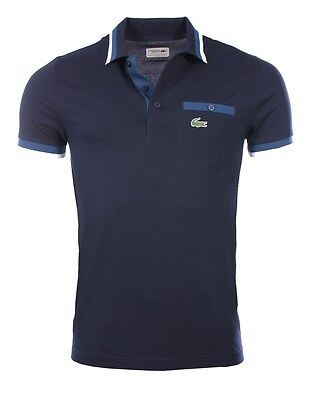 Lacoste homme - Polo manches courtes Bleu Marine Lacoste YH2094