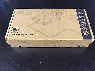 Kramer VS-401XLM Composite/Audio Switcher. NIB.